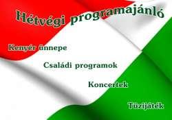 Hétvégi programok