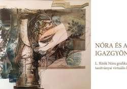 L. Ritók Nóra grafikusművész és tanítványai virtuális kiállítása